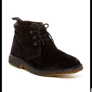 Vince Candace black suede chukka boots 8.5